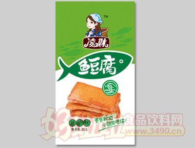 洞庭鱼郡鱼豆腐孜然味25g