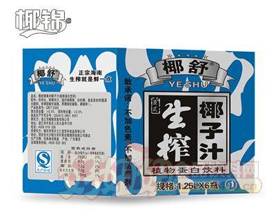 1.25Lx6迷彩生榨椰子汁纸箱