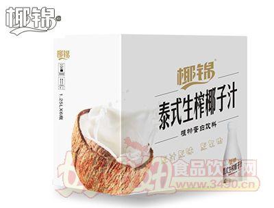 1.25Lx6泰式生榨椰子汁白色版纸箱