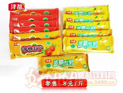 津都冰糖葫芦威化饼干、冰糖雪梨饼干8元1斤