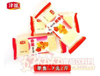 津都香果威化饼7元1斤