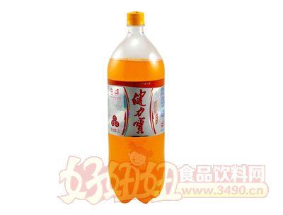 健力宝含汽橙蜜运动饮料大瓶2L