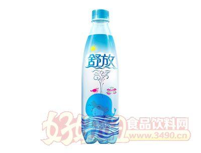 舒放荔枝风味汽水(500ml)