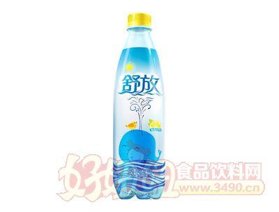 舒放��檬�L味汽水(500ml)