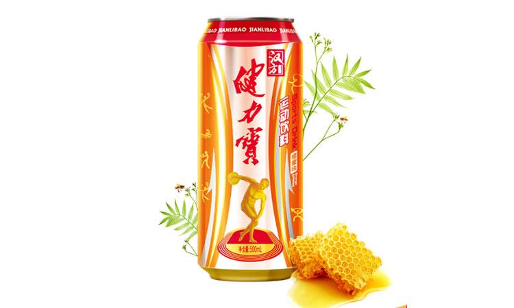 健力宝汉方能量含汽橙蜜味饮料500ml