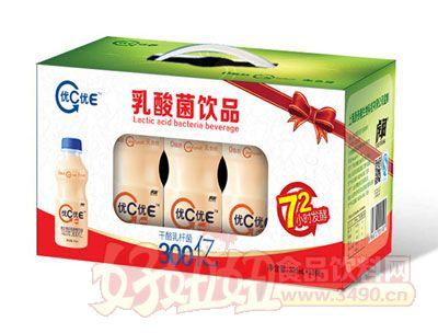 优C优E乳酸菌340ml10瓶装