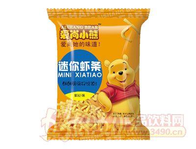 爱尚小熊迷你虾条鲜虾味