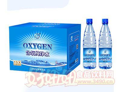 源农含氧纯净水600mlx15瓶