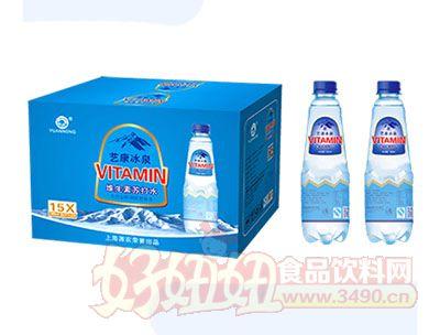 源农艺康冰泉维生素苏打水460mlx15瓶