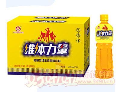 源农维体力量维生素果味饮料580mlx15瓶