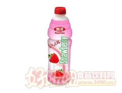 1.25L越南进口草莓奶
