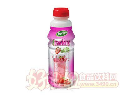 500ml越南进口草莓味果奶