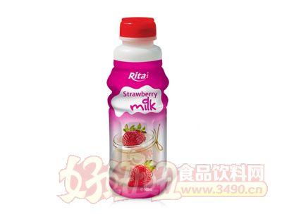 越南原产草莓奶500ml