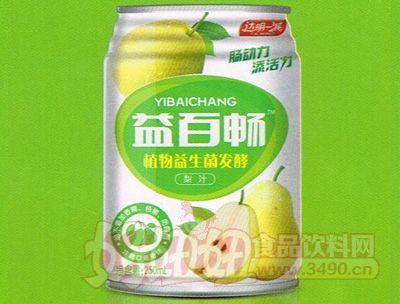 益百畅植物益生菌发酵梨汁250ml