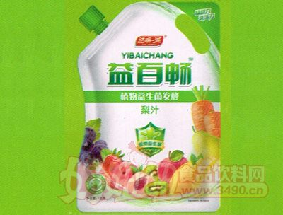 益百畅植物益生菌发酵梨汁1KG