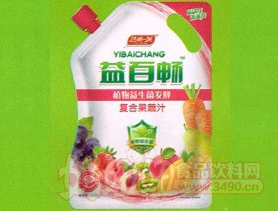 益百畅植物益生菌发酵复合果蔬汁1KG
