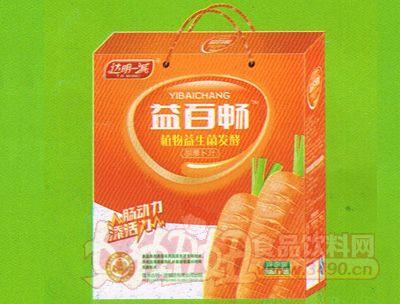 益百畅植物益生菌发酵胡萝卜汁礼盒