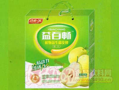 益百畅植物益生菌发酵梨汁礼盒