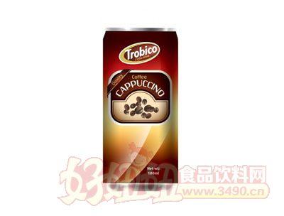 越南原装进口180毫升卡布奇诺罐装咖啡