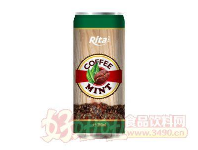越南进口薄荷咖啡250毫升