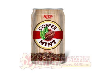 330毫升越南进口薄荷咖啡饮品