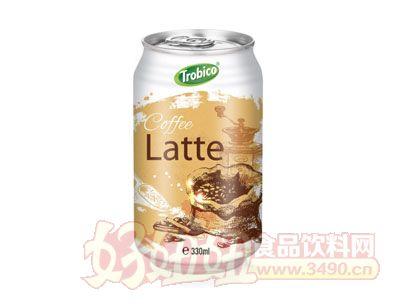 330毫升进口拿铁咖啡饮品