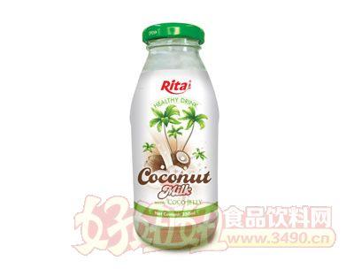 250毫升玻璃瓶装越南进口椰奶