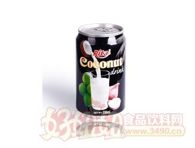 越南进口椰奶330ml罐装