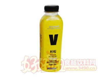 三寅V柠檬果味饮料500ml