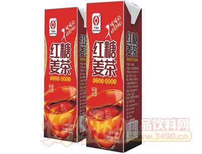 中原红红糖麦茶250ml