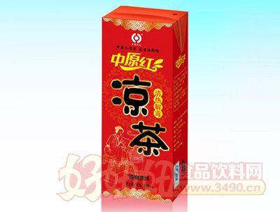 中原红凉茶250ml