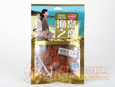 心味果园68g香酥龙头鱼