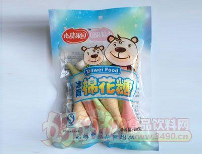 心味果园80克冰筒棉花糖