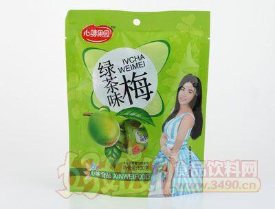 心味果园绿茶味梅