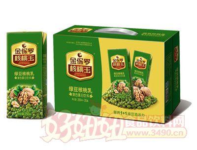 金保罗-320X12 绿豆核桃乳