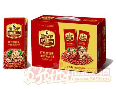 金保罗-250ml x 20 红豆核桃牛奶