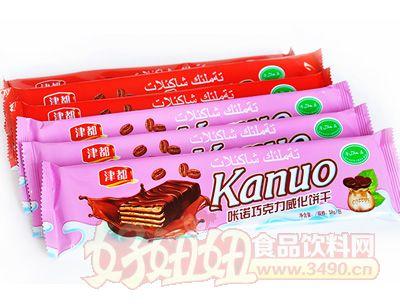 津都咔诺巧克力威化饼干58g