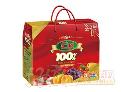 汇源100%果汁饮料礼盒