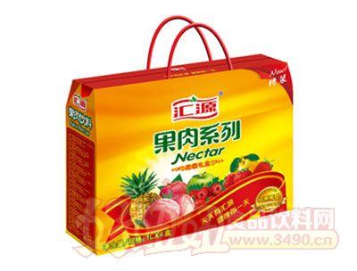 汇源果肉系列饮料礼盒1L×4盒