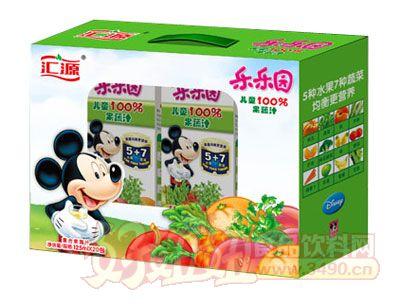 汇源100%果蔬汁礼盒