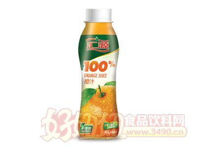 汇源100%橙汁300ml