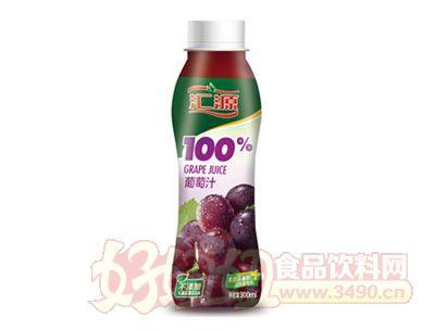 汇源100%葡萄汁300ml