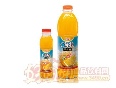 汇源C每粒果粒橙饮料420ml