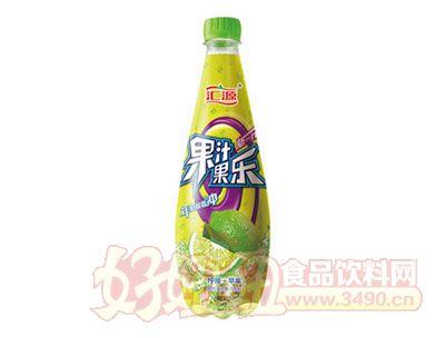 汇源果汁果乐柠檬+苹果饮料