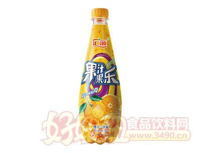 汇源果汁果乐橙子+苹果饮料