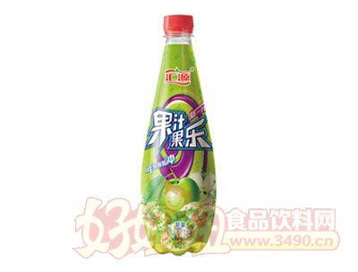 汇源果汁果乐苹果味饮料