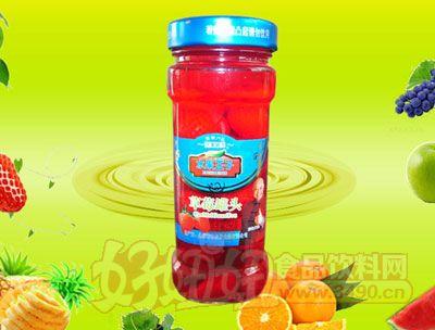 水果王子256g草莓罐头