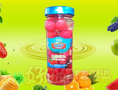 水果王子256g山楂罐头