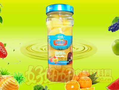 水果王子256g桃罐头