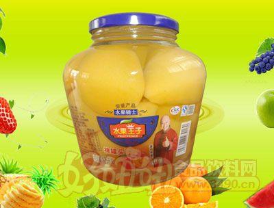 水果王子1025g桃罐头
